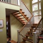 Pocono Bed and Breakfast open staircase